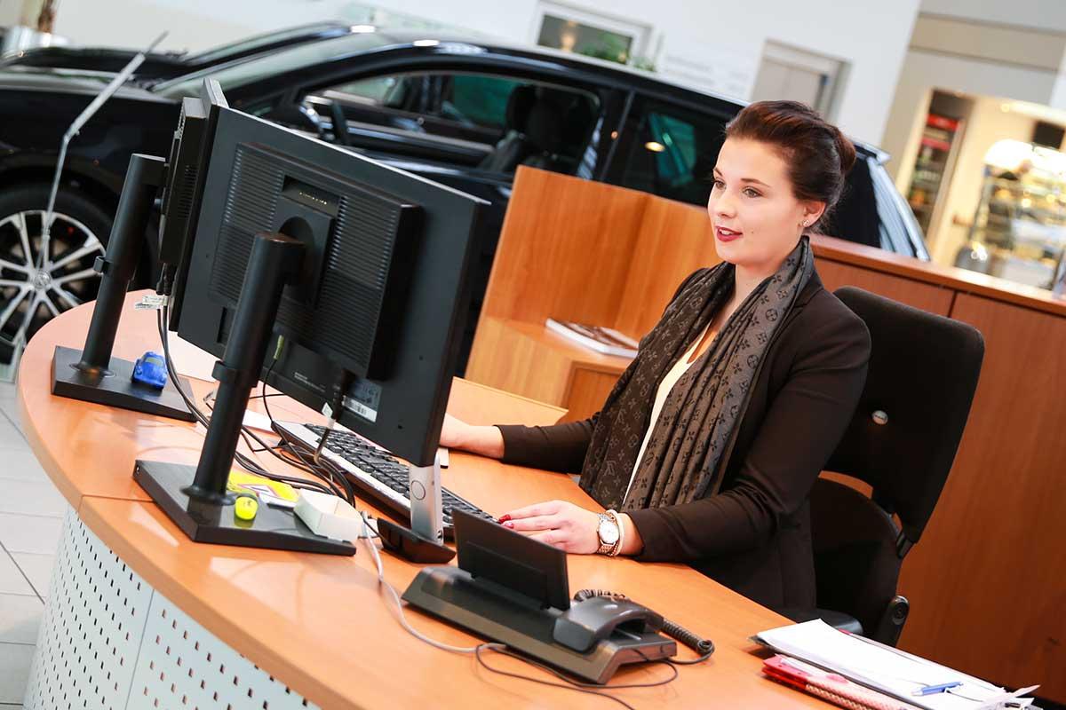 Beruf Automobilkaufleute