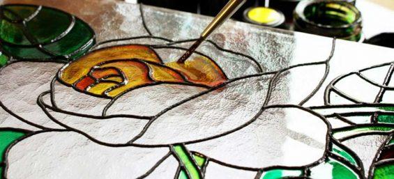 Glas- und Porzellanmaler