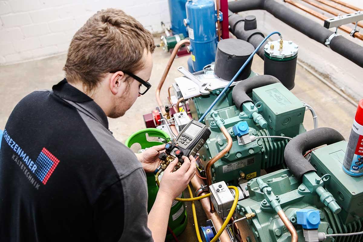 Mechatroniker für Kältetechnik
